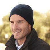 Soft Wide Ribbed Beanie